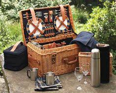 best picnic basket dual opening wicker picnic basket with cups plates cutlery