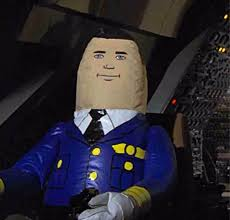 inflatable pilot from airplane movie meme generator