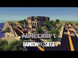 siege minecraft rainbow six siege house map minecraft project