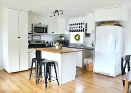rustic farmhouse kitchen ideas country farmhouse kitchen a budget black and white country