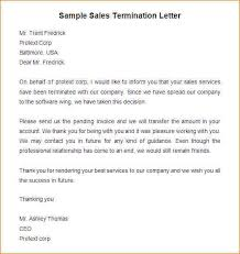 10 notice of termination of contract letter template