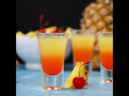 pineapple upside down cake shot youtube