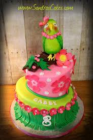 Luau Cake Decorations Gabby U0027s Luau Birthday Cake