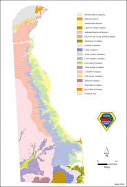 Delaware County Map A Generalized Geologic Map Of Delaware The Delaware Geological