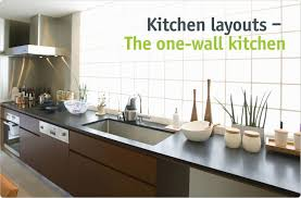 one wall kitchen layout ideas one wall kitchen designs exquisite interior home office at one