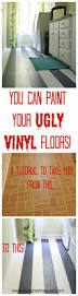 learn how to paint vinyl floors for long lasting results painted