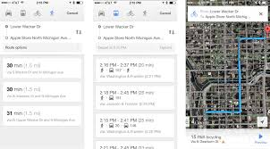 Google Maps Driving Directions Usa by Best Transit Apps For Iphone Google Maps Moovit Citymapper And
