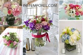 centre de table mariage pas cher bouquet de fleurs pour centre de table 13 fleur centre de table