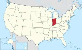 Northeast Usa Map by List Of Cities In Indiana Wikipedia