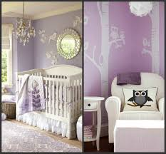 baby nursery soft purple nursery colors for girls with owl
