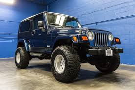 lifted 2006 jeep wrangler unlimited 4x4 northwest motorsport
