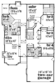 apartments floor plan 4 bedroom bungalow residential house plans