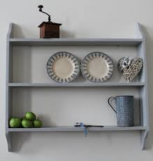 white kitchen wall shelf unit
