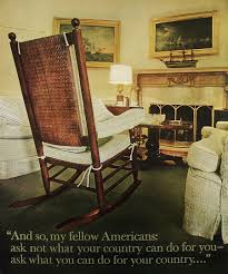 John F Kennedy Rocking Chair Men Of Courage President Kennedy Elimination Details Provided By