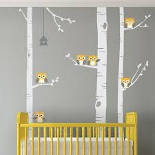 Wall Decor Stickers For Nursery Birch Tree Wall Decals Birch Tree Wall Decor Sticker Birch