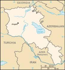 armenia on world map armenia