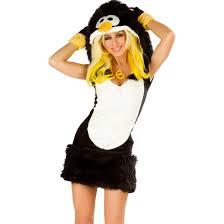 4 piece deluxe penguin costume get it on fancy dress superstore