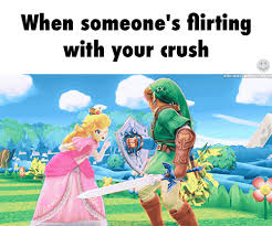Smash Bros Memes - found on flirting crushes and gaming