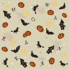 cute spooky background halloween background u2014 stock vector teia 7118130
