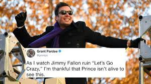 jimmy fallon just covered a prince song and some fans aren t