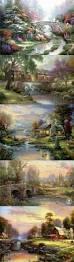 432 best thomas kinkade images on pinterest thomas kinkade thomas kinkade natures paradise
