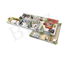 Home Planner 3d 3d Floor Plan On Behance