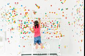 children u0027s biennale 2017 artists u0026 artworks yayoi kusama the