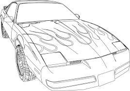 nissan skyline drawing outline and furious coloring pages