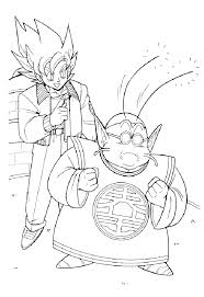 kids fun 55 coloring pages dragon ball