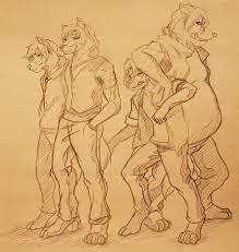 werewolf sketch by crimsonwolf2016 on deviantart