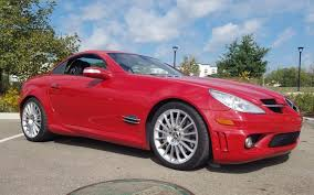 mercedes slk55 amg for sale 2005 mercedes slk55 amg for sale on bat auctions sold for