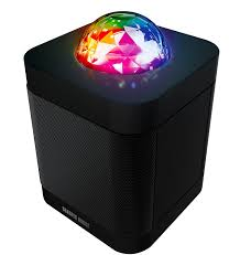 portable speaker with lights amazon com sharper image sbt613 bluetooth speaker with lights