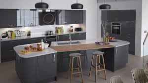 black gloss kitchen ideas gloss kitchen ideas l shape kitchen cabinet grey white