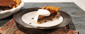 chocolate chess pie recipe by carla the chew carla