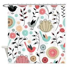 Bird Shower Curtains Shower Curtains With Birds Designing Home Winter Bird Shower