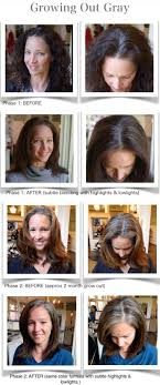 how to grow out layered women s hair into bob grey hair when is it time to let nature take it s course salons