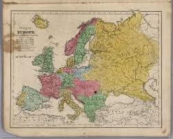 Political Map Of Europe by Political Map Of Europe David Rumsey Historical Map Collection