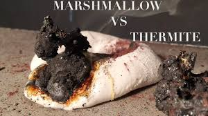 melting a marshmallow with thermite youtube