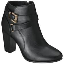 womens boots in target merona kailey ankle boot with buckl target