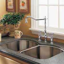 kitchen sinks and faucets culinaire bridge kitchen faucet american standard