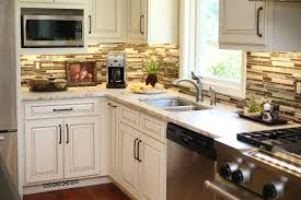 decor omicron granite countertop with peel and stick tile