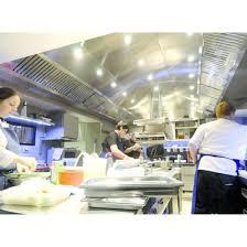 ventilation cuisine professionnelle plafond filtrant fermé simple ou flux pour cuisine