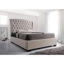 Bed Headboards And Footboards Crown Mark Kaitlyn Upholstered Queen Headboard And Footboard Bed