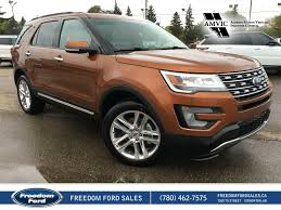 ford explorer 2017 new 2017 ford explorer limited 4 door sport utility in edmonton