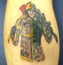 firefighter maltese cross tattoos images design idea