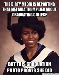 Graduation Meme - bring back my speech internet s funniest responses to melania