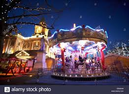 Christmas Decorations Online Ireland by Christmas Market Belfast Northern Ireland Stock Photos U0026 Christmas