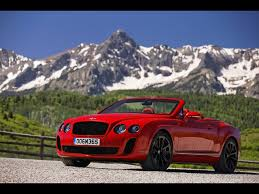 bentley red 2010 bentley continental supersports convertible st james red