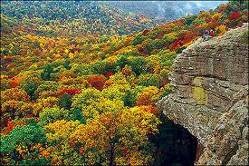 Arkansas scenery images Mountain fall scenery jpg