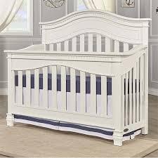 evolur cheyenne 5 in 1 convertible crib in distressed white 826 dw